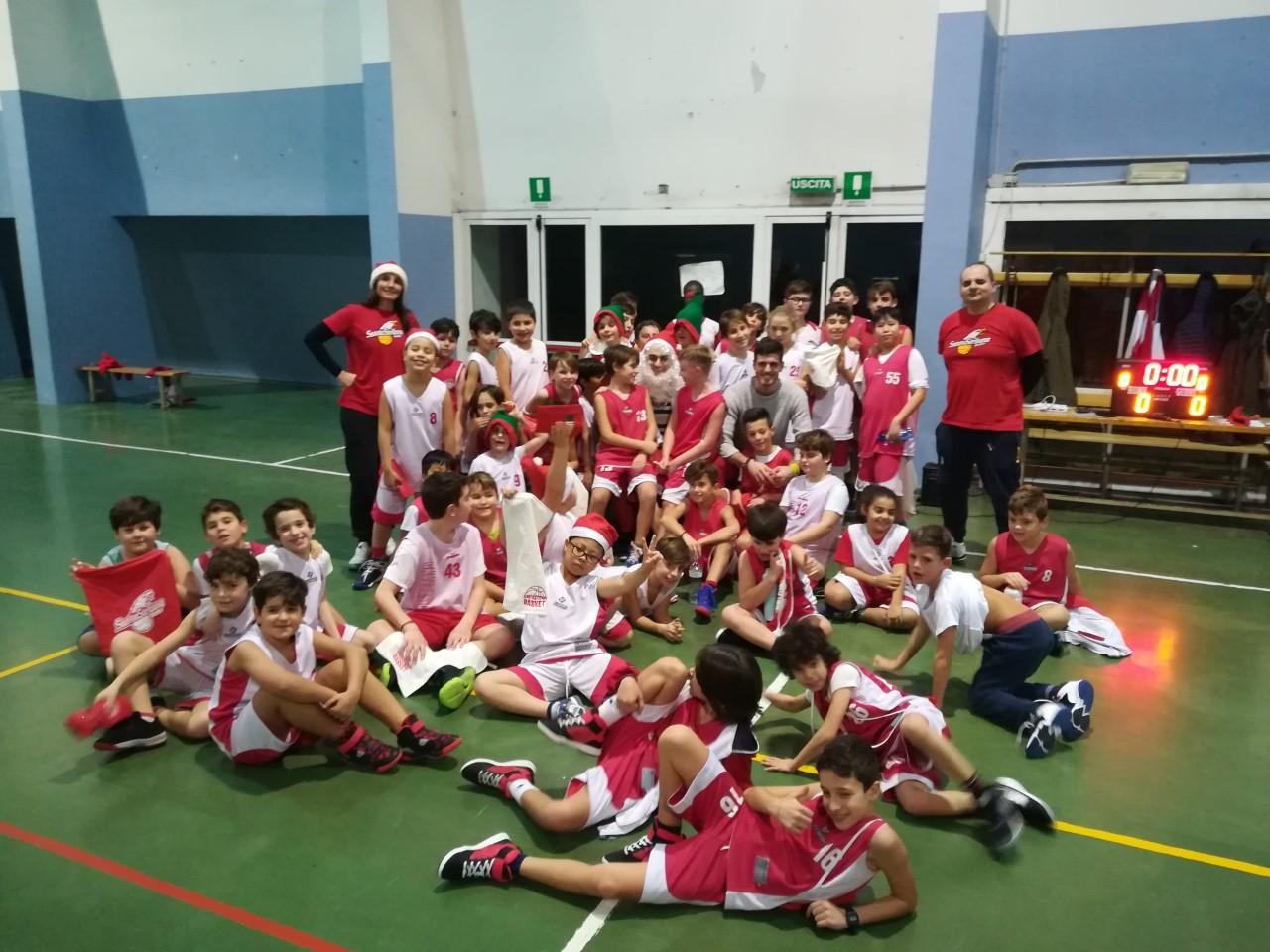Festa di Natale 2019 Santo Stefano Basket