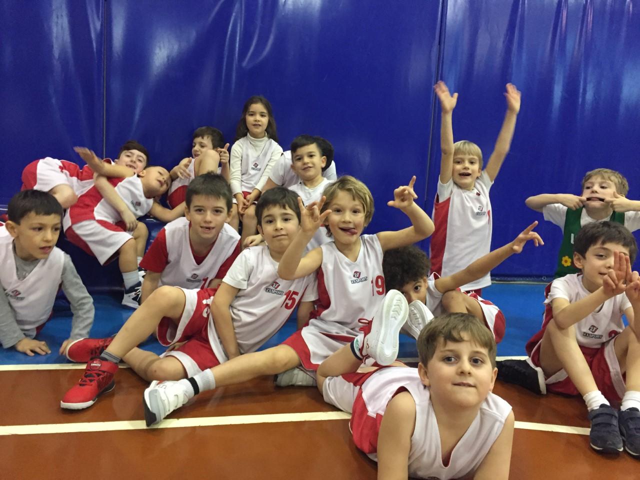 Minibasket, i pulcini della Santo Stefano