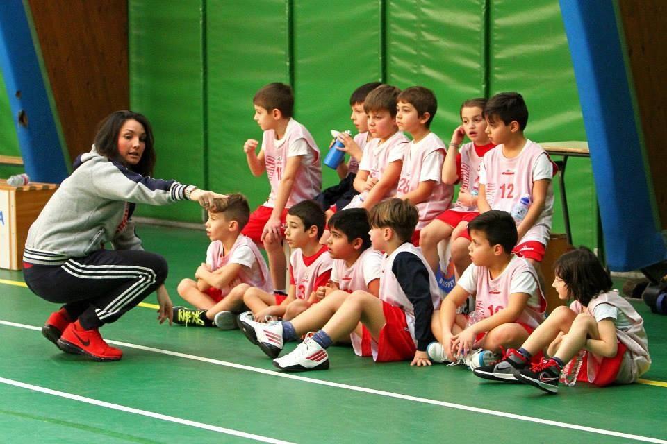 Doriana Catalano istruttrice Minibasket di Santo Stefano Basket