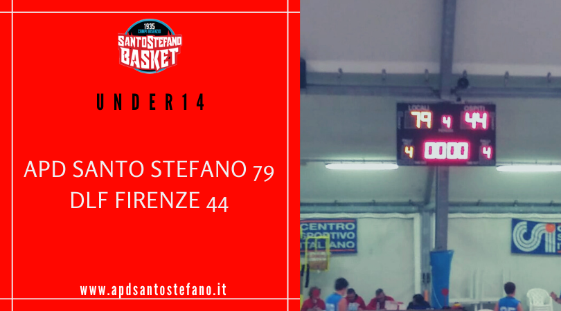 Under14: Santo Stefano - DLF 79-44